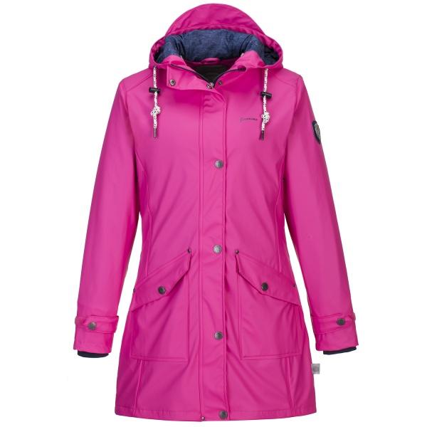 Jeronimo PU Damen Mantel Fehmarn Pink