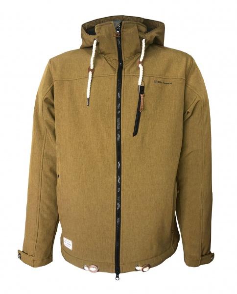 Herren Softshell Jacke Heiligenhafen Bronze Dry Fashion