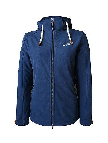 Damen Softshell Jacke Navy
