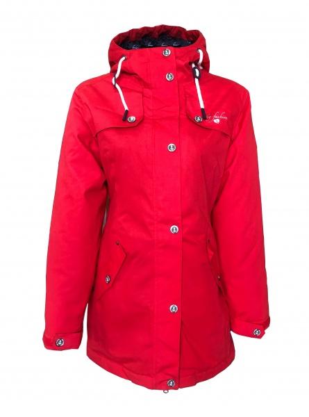 Jacke Stockholm Rot Winter Dry Fashion